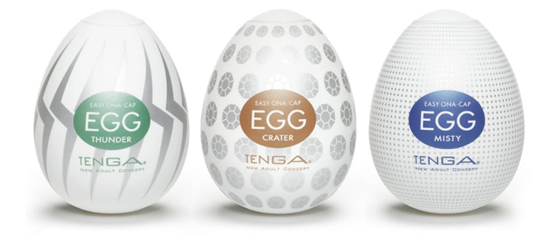 Tenga Egg masturbation sleeves
