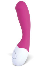 LoveLife Cuddle g-spot vibrator by OhMiBod in pink