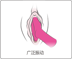 Ambi by Lovense can be used for broad stimulation.