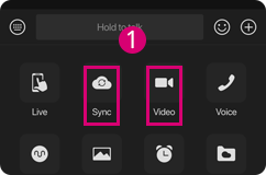 Long distance sex is available via the Sync Together or Video Chat button.