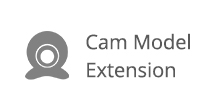 Cam Model Extension user guide.