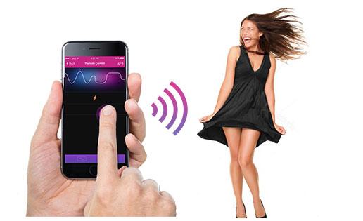 Wireless Bluetooth Sex Toys Controlled Via Free App-8494