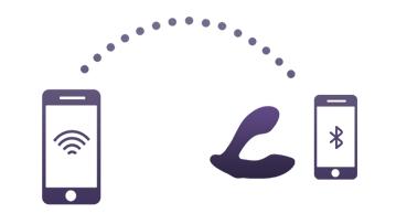 Long distance Control Anal Plug with Wifi