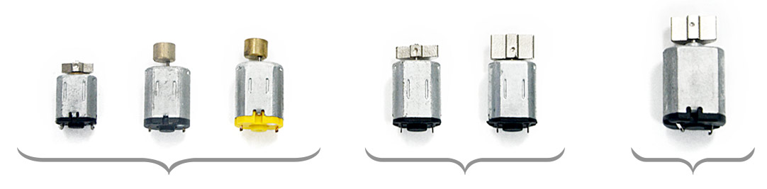 Hush's motor compared with motors of the most common butt plugs on the market.