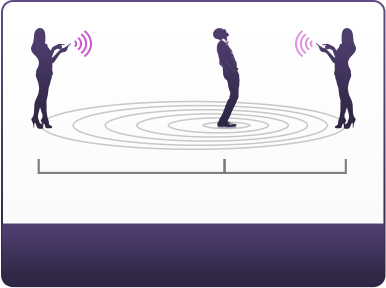 Hush vibrating butt plug works up to a distance of 30 feet when standing.