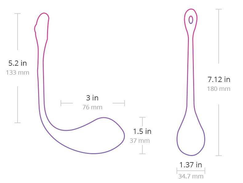 Dimensions de Lush 2.