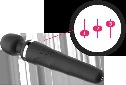 Lovense Remote vous permet de personnaliser les vibrations et de sauvegarder jusqu'a  10 modes dans votre Domi.